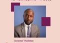 A Moment With Jerome Holston – Womens Business Development Center