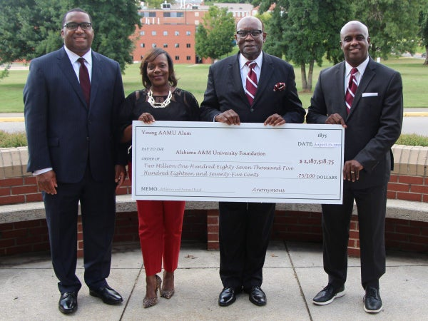 Alabama A&M Receives Largest Individual Donation in the School's History